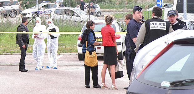 La police scientifique à Campo dell'Oro (Photo Marilyne Santi)