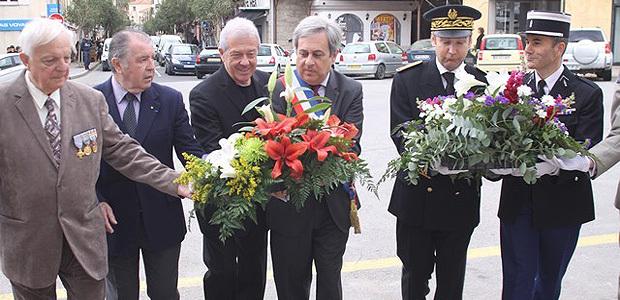 journée nationale  de la Déportation à Calvi