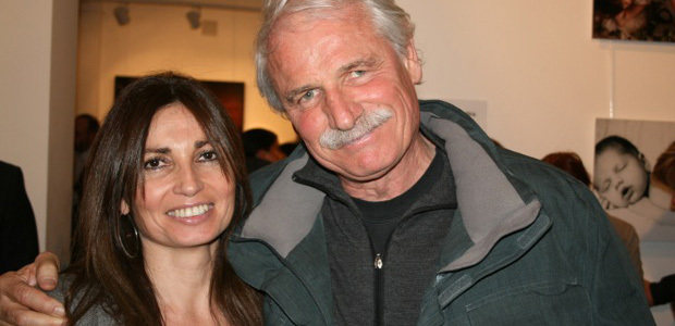 Agnès di Meglio avec Yann Arthus-Bertrand