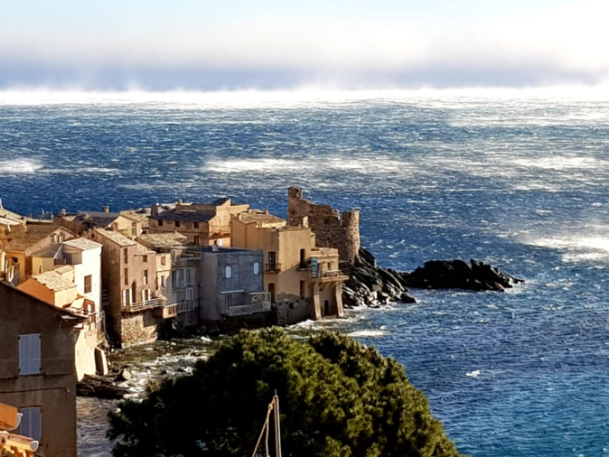 Météo : Vents violents. Rafales de 160 à 180 km/h prévues sur le Cap Corse