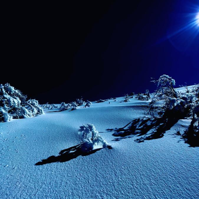 La photo du jour : «nuit bleue» au val d'Ese