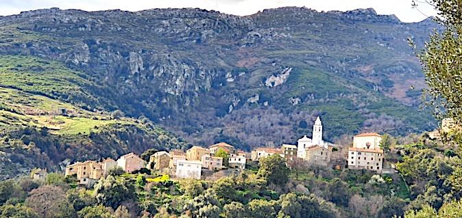 La photo du jour : u bellu paese di Santu Petru di Tenda