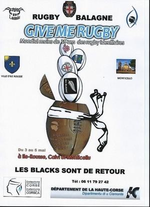 Mondial des moins de 15 ans des rugby identitaires en Balagne