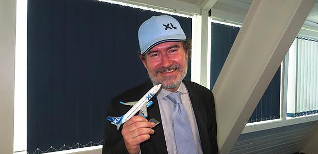 Laurent Magnin, PDG d'XL Airways, compagnie aérienne française low cost et Tour operator