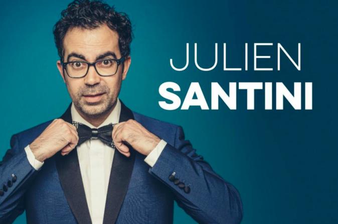 Le Bastiais Julien Santini au festival Mont-Blanc d'Humour de Saint-Gervais