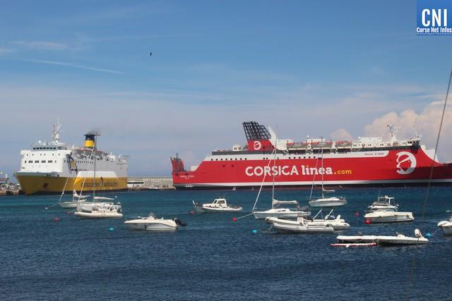 Coronavirus : le trafic maritime toujours en berne en Haute-Corse