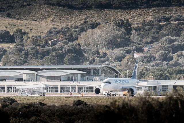 Aéroport Calvi-Balagne (Photos Eyefinity prod/Kevin Guizol