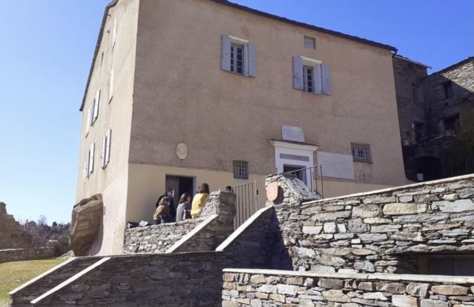 Le musée Pasquale Paoli à Merusaglia.