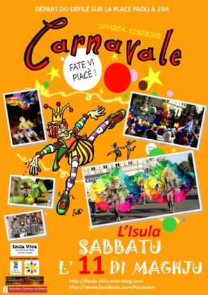 Carnaval de l'ILe-Rousse : C'est pour Samedi
