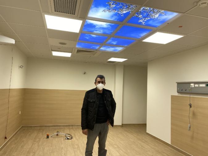 Jean-Luc Granier,  Responsable des services techniques de l'hôpital de Bastia.