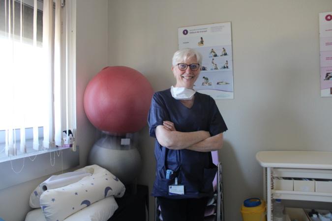 Brigitte Rusjan, sage femme de coordination de l'hôpital de Bastia