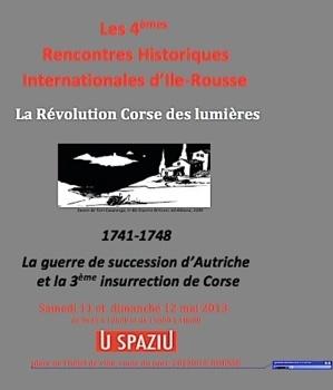 """""""La Révolution corse des lumières"""" aux rencontres historiques de L'Ile-Rousse"""