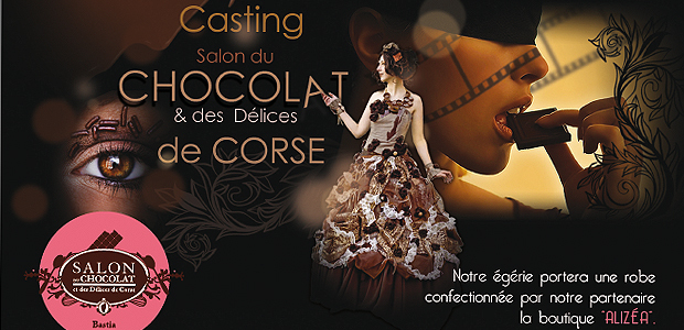 Bastia : Devenez l'égérie du salon du chocolat