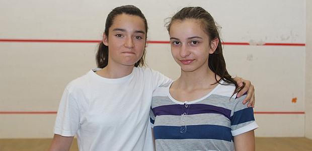 Nicolas Cardi  et Sarah Guttieriez (L'Ile-Rousse) vainqueurs à l'Open de squash