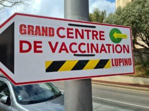 Le centre vaccination de Lupinu a été requalifié en Grand Centre. Crédits Photos : Pierre-Manuel Pescetti