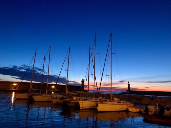 La photo du Jour : le vieux-port de Bastia au petit jour