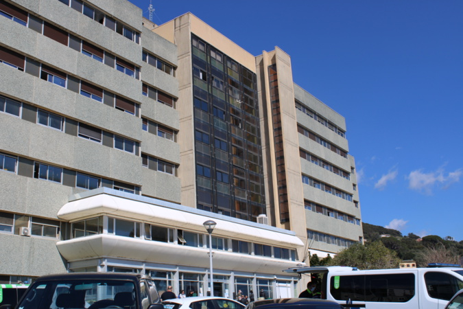 Photo illustration hôpital de Bastia