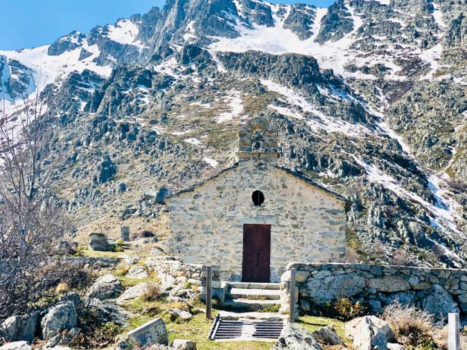 La photo du jour : la chapelle Sant'Eliseu