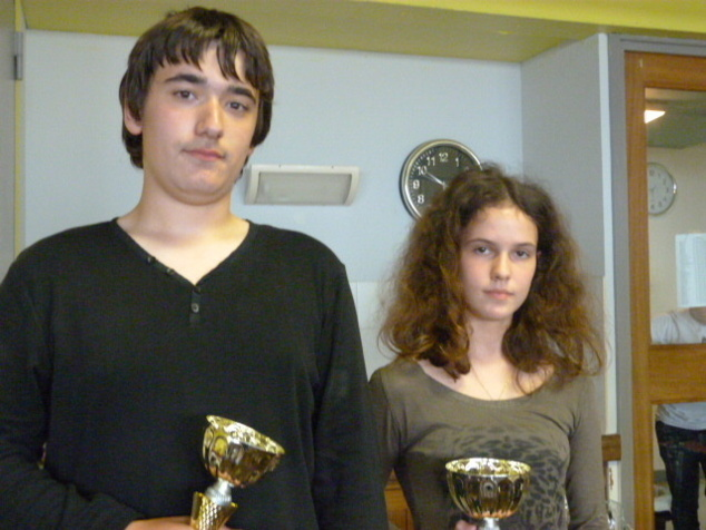 La championne et le vice-champion 2013 (Photo DR)