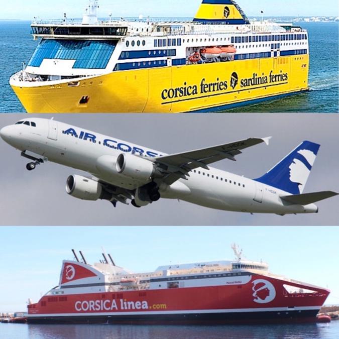 Transports vers la Corse : un écroulement des réservations pour les vacances scolaires de printemps