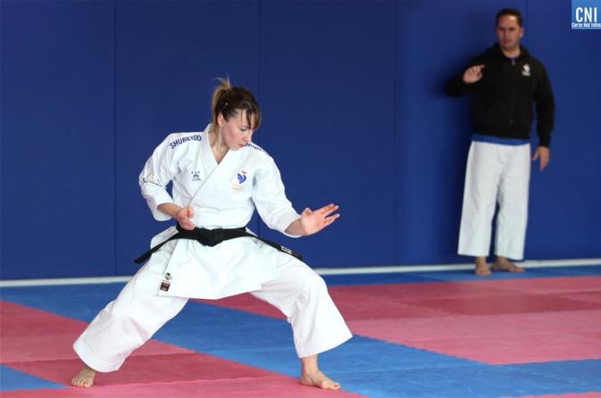 Alexandra Feracci se consacre pleinement à la préparation des Jeux Olympiques de Tokyo. Photo : Michel Luccioni