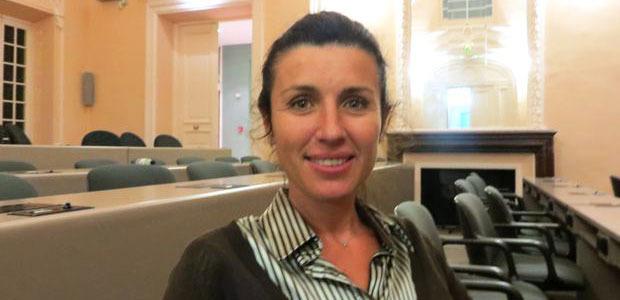 Marie-Antoinette Santoni-Brunelli, élue du groupe « Rassembler pour la Corse ».