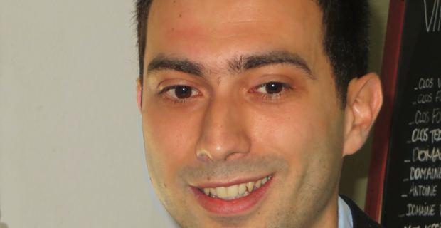 Sylvain Fanti, un des candidats de droite à l'élection municipale bastiaise de mars 2014.