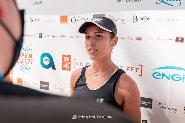 Le sourire victorieux de Lola Marandel (Photos Eyefinity Prod / Kevin Guizol