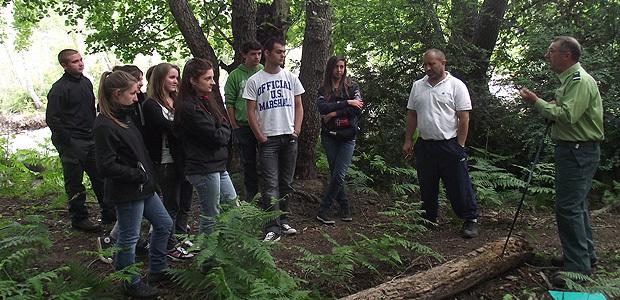 """"""" U Valdu"""": Les élèves du lycée agricole de Borgu dans la tourbière"""