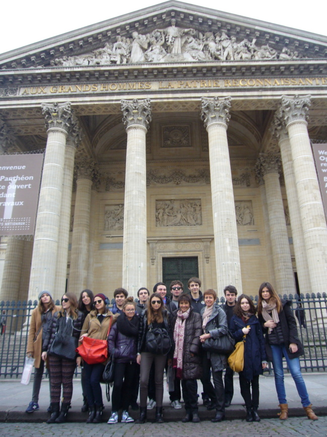 Ajaccio : Les lycéens de Fesch à Paris
