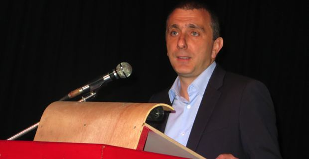Jean Christophe Angelini, leader du PNC, conseiller territorial de Femu a Corsica, conseiller général du canton de Porto-Vecchio, à la tête de Portivechju Altrimenti.