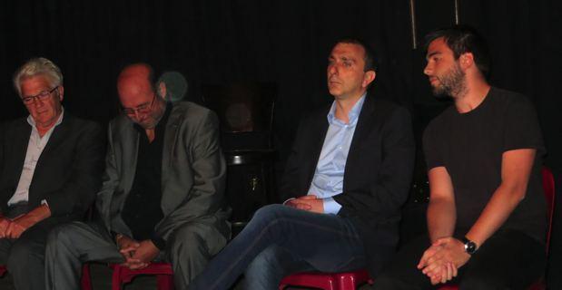 Gérard Cesari, Pierre Andreani, Jean Christophe Angelini et Vincent Gambini