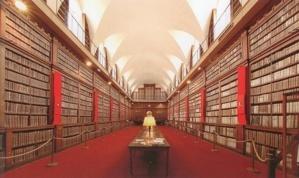 La bibliothèque Fesch renferme un véritable trésor de plus de 40 000 ouvrages du XVè au XIXè siècles, 29 incunables et 200 manuscrits. (Photo : DR)