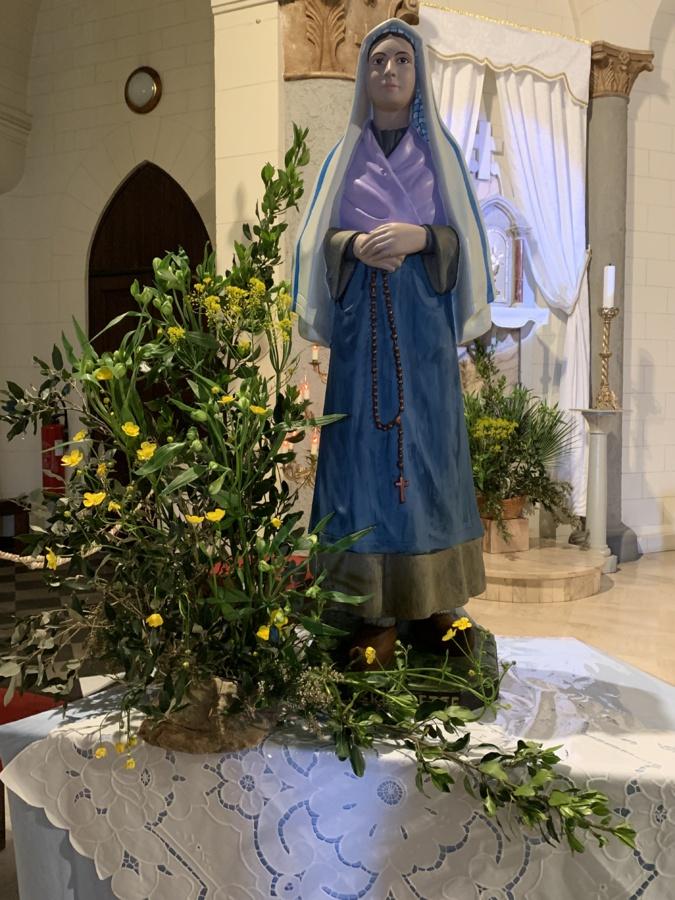 La paroisse de Notre Dame Lourdes de Bastia célèbre ce 16 avril la disparition de Sainte Bernadette