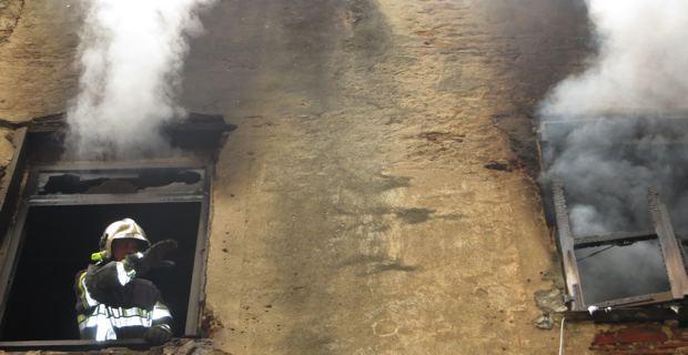 Bastia : Incendie dans un immeuble désaffecté du centre ancien