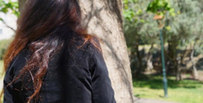 Stéphanie a choisi le parc du Fango pour nous rencontrer mais préfère rester anonyme