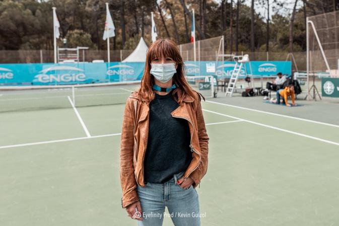 Camille Pin aujourd'hui journaliste sportif (Photo nEyefinity Prod/Kevin Guizol