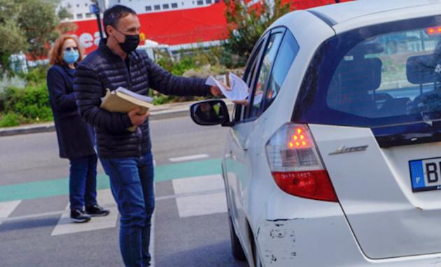 Bastia : distribution de tracts à l'occasion de la Journée internationale des prisonniers politiques