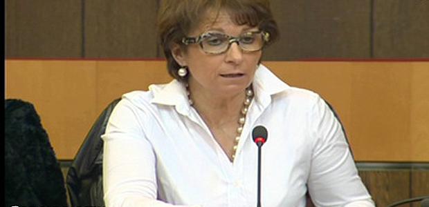 Nadine Nivaggioni, élue territoriale du groupe Femu a Corsica.