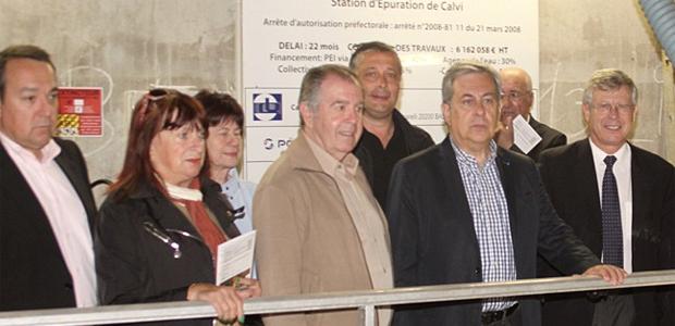 L'usine de traitement des eaux usées de Calvi  aux normes européennes