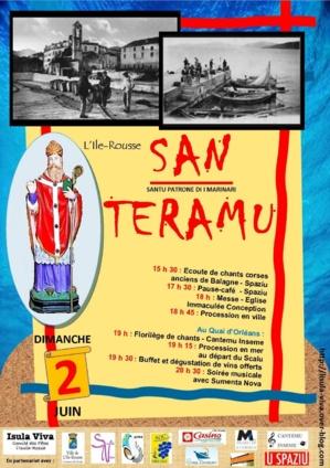 L'Ile-Rousse : Festa di San Teramu
