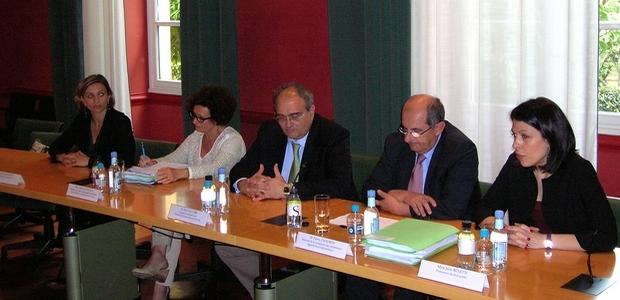 La présentation du rapport des experts a eu lieu vendredi soir à la CTC. (Photo Yannis-Christophe Garcia)