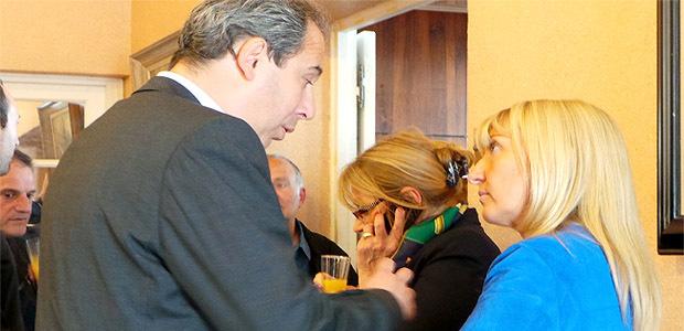 Jean Zuccarelli et Emmanuelle de Gentili