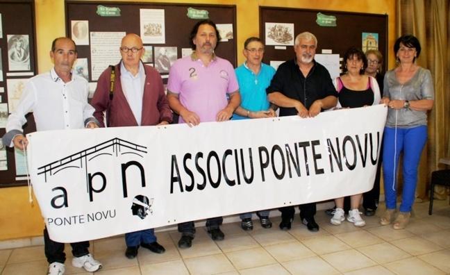 Ghjuvan- Andria Culioli président de l'associu  Ponte Novu