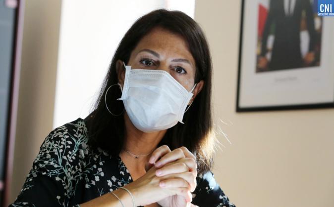 Julie Benetti, rectrice de l'académie de Corse, se veut optimiste pour la rentrée des classes. Crédits Photo : Michel Luccioni
