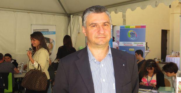 Jean-François Paoli, chef d'entreprise et président de la Commission de formation de la Chambre de commerce et d'industrie de Haute Corse.