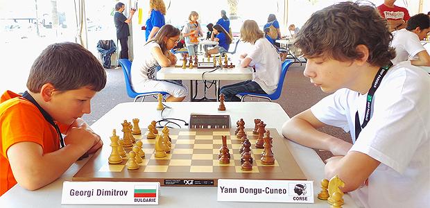 Echecs : 3 000 scolaires dans le sillage du tournoi européen des jeunes