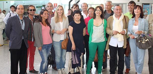 Les artistes espagnols de la RACC 2013 accueillis à Calvi