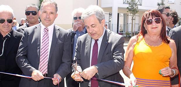 Un ensemble de 36 logements collectifs  sociaux inauguré à Calvi