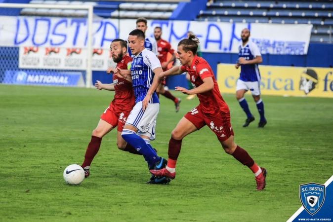 Annecy s'impose à Furiani - Le SC Bastia avait la tête ailleurs